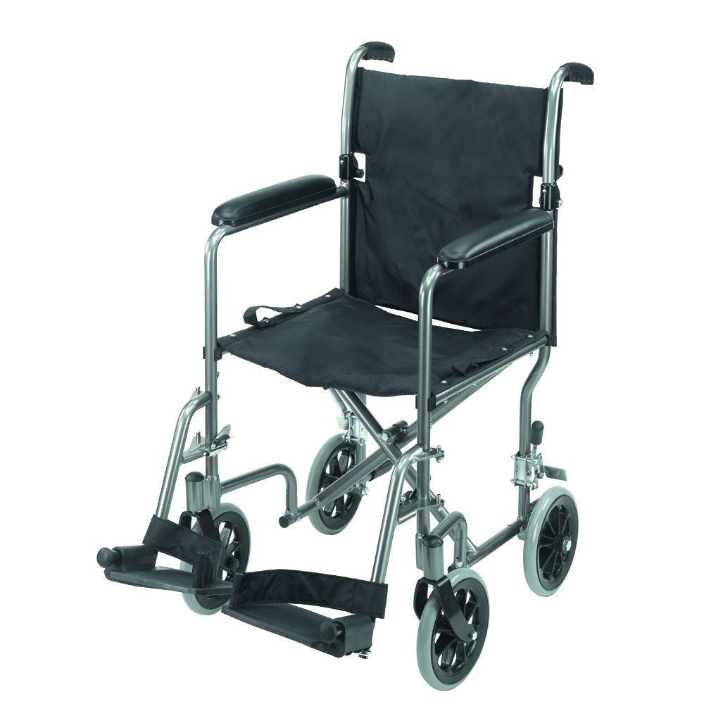 Ultra Lightweight Transport Chair in Aluminum