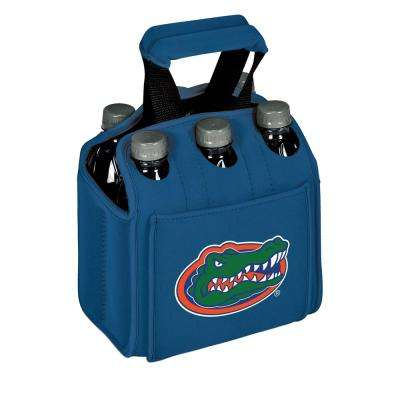 University of Florida Gators 6-Bottles Blue Beverage Carrier