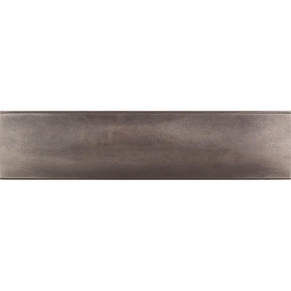 Urban Metals Bronze 3 in. x 12 in. Composite Liner Trim