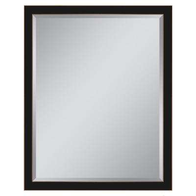 30 in. W x 40 in. H Classic 1.5 in. W Metal Framed Wall Mirror in Oil Rubbed Bronze