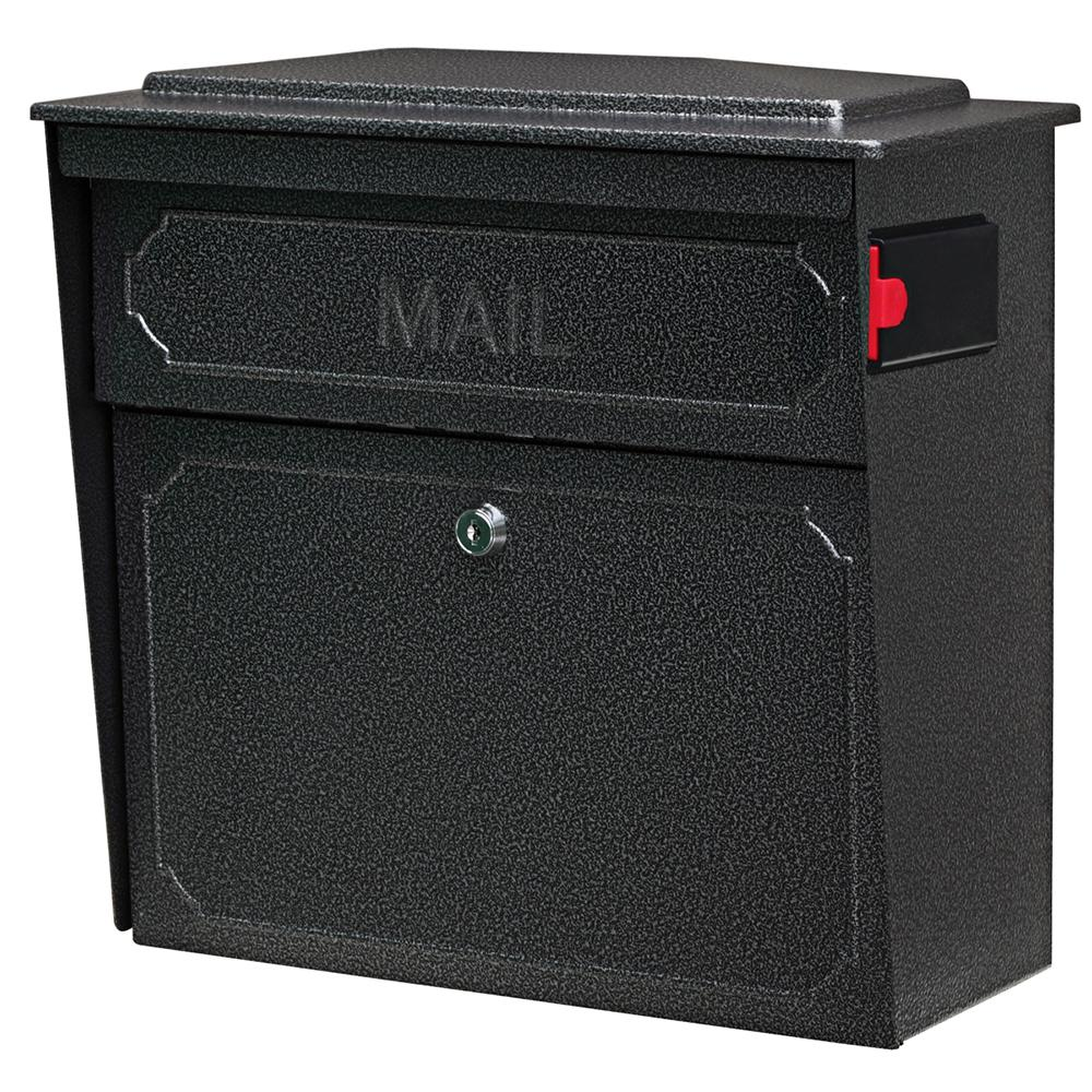 Mail Boss Townhouse Locking Wall Mount Mailbox With High