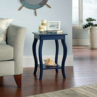 Harbor View Indigo Blue Side Table