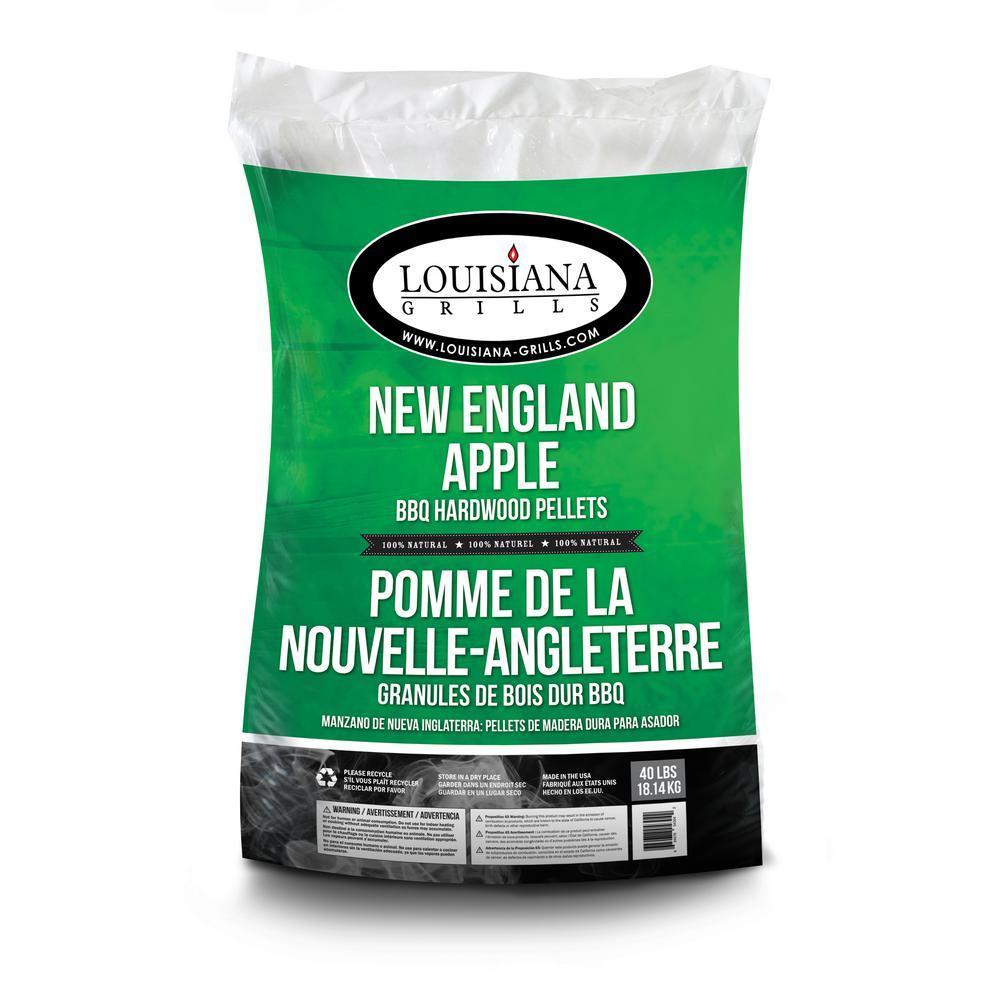 Louisiana grills lb new england apple hardwood pellets
