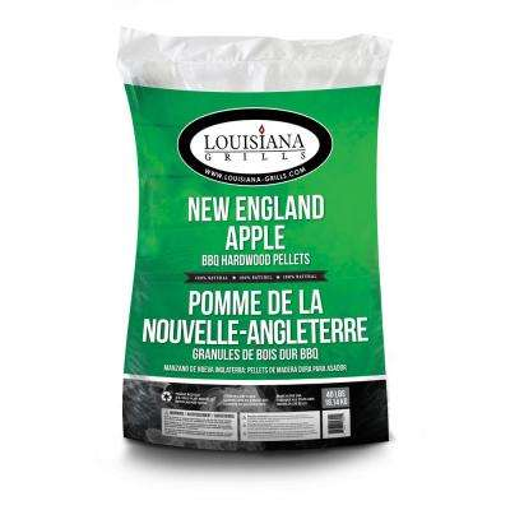Louisiana Grills 40 lb. New England Apple Hardwood Pellets