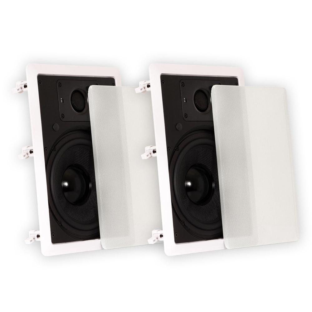 Theater Solutions By Goldwood In-Wall 8 In. Speakers