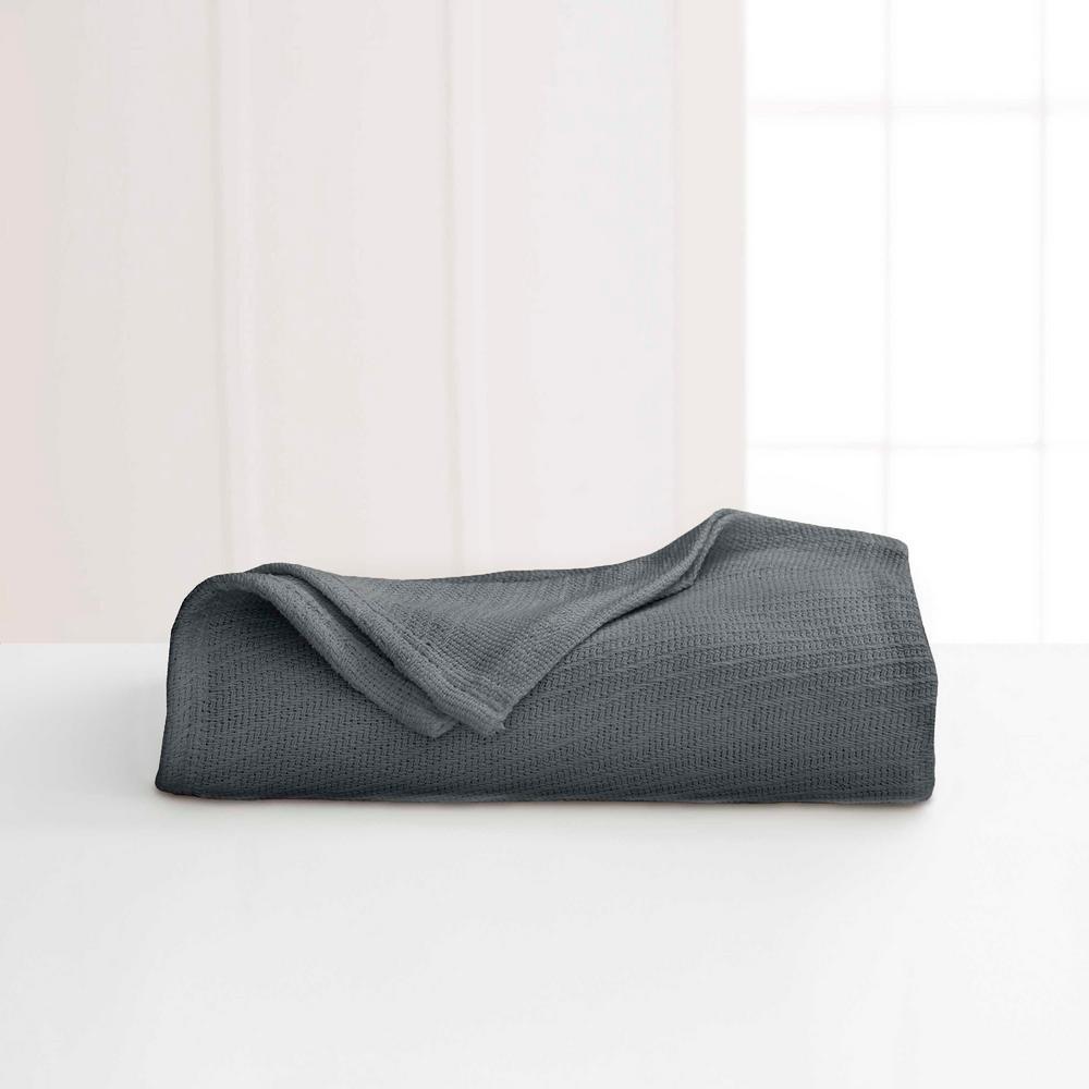 Cotton Quiet Shade Cotton King Blanket
