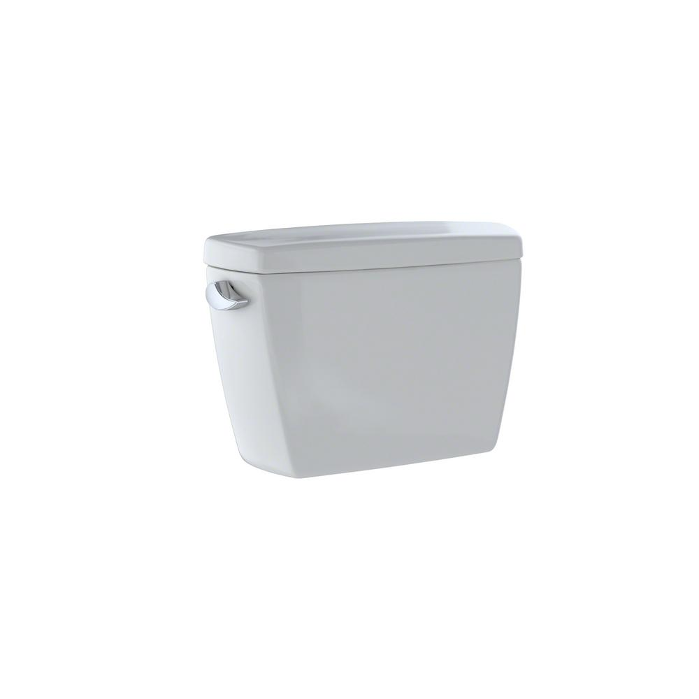 Drake 1.6 GPF Single Flush Toilet Tank Only in Colonial White
