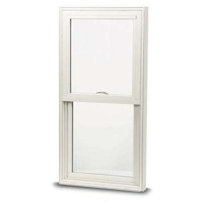 28 in. x 46 in. 100 Series Single Hung Insert Composite Window with White Exterior