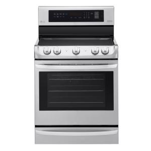 Click here to buy LG Electronics 6.3 cu. ft. Electric Range with ProBake Convection Oven in Stainless Steel by LG Electronics.