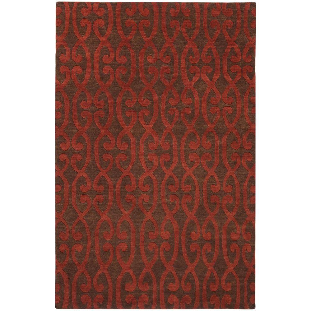 Artistic Weavers Cermona Scarlet 5 ft. x 8 ft. Area Rug