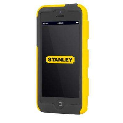 Foreman iPhone 5 Rugged 2-Piece Smart Phone Case Yellow and Black