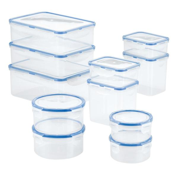 Easy Essentials 22-Piece Assorted Food Storage Container Set