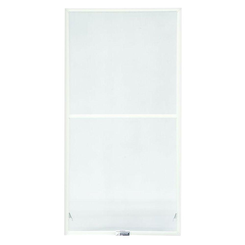 Andersen TruScene 19-7/8 in. x 50-27/32 in. White Aluminum Double-Hung Insect Screen