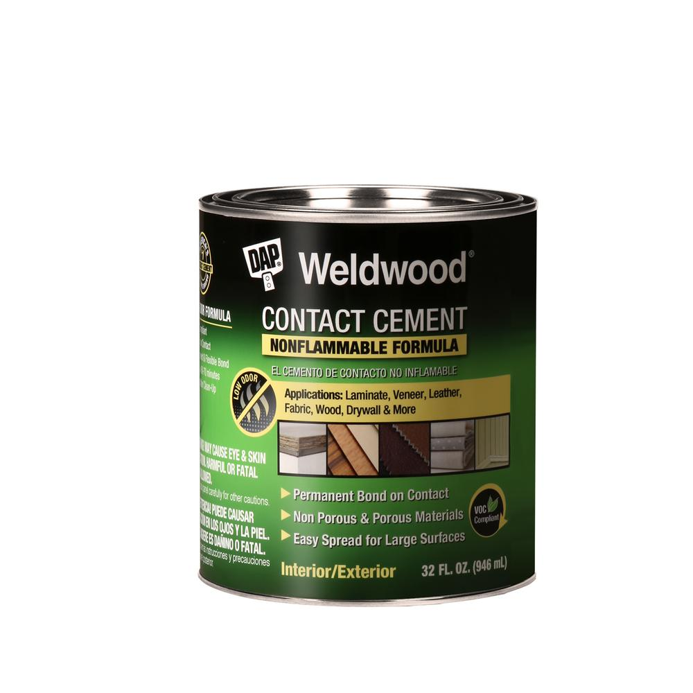 DAP Weldwood 32 fl. oz. Nonflammable Contact Cement