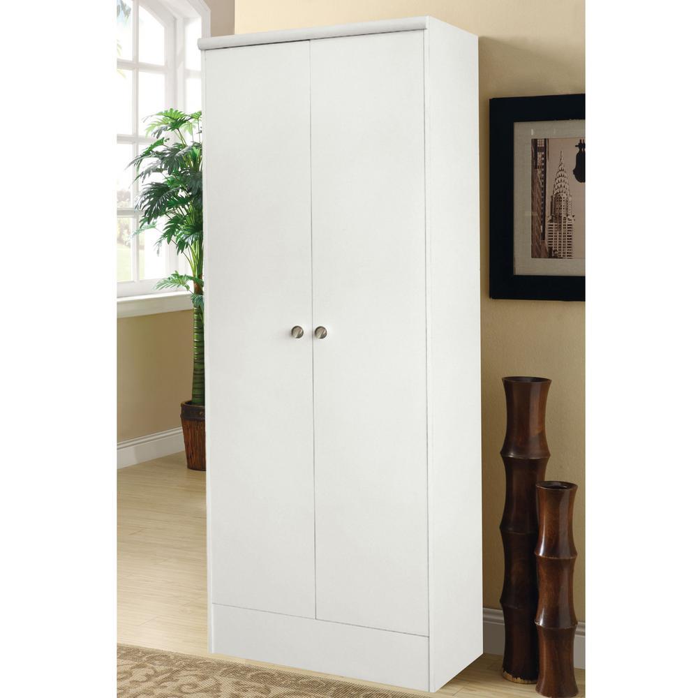 Home Source Industries Home Source Aaronsburg White 2 Door Pantry