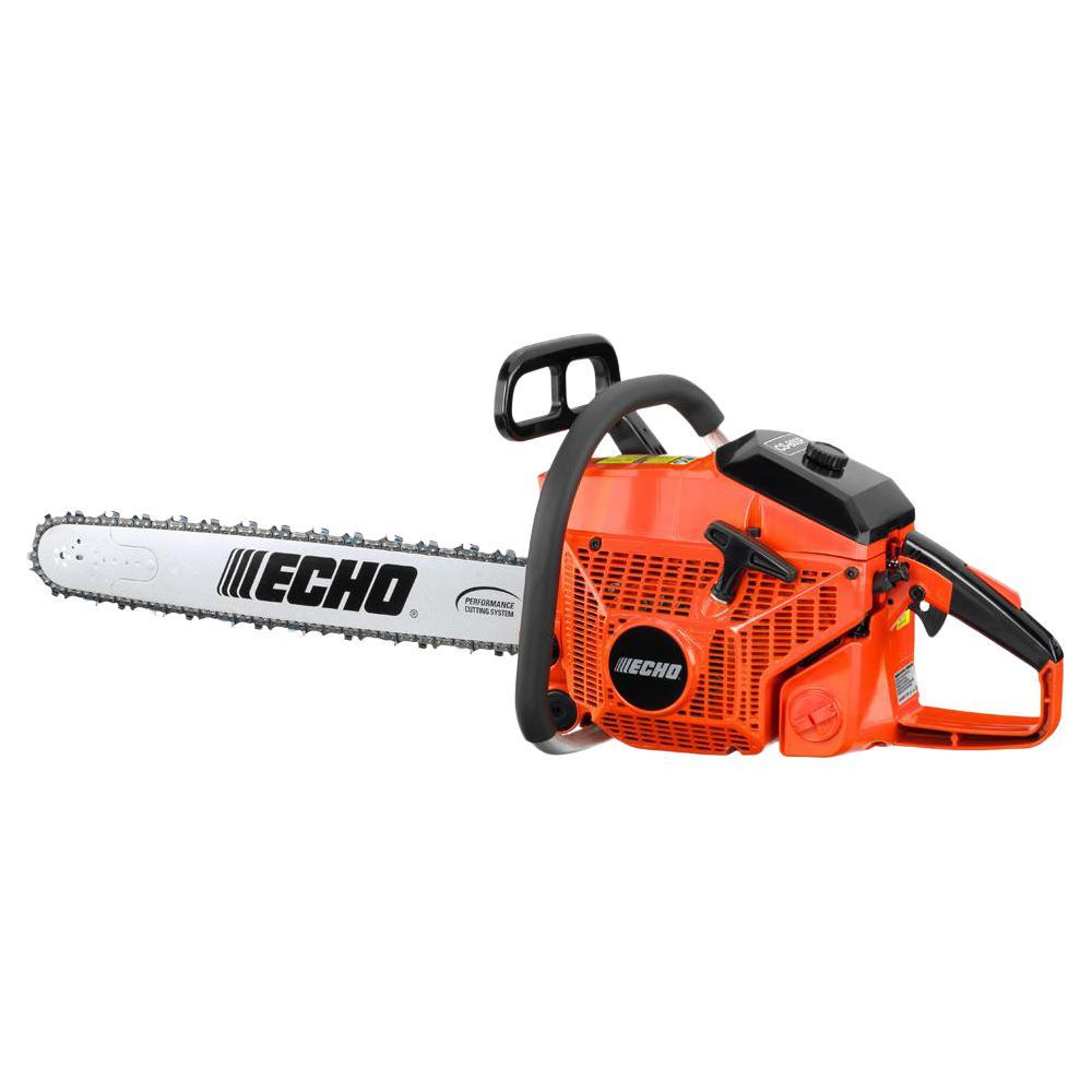 ECHO 24 in. 80.7 cc Gas 2-Stroke Cycle Chainsaw