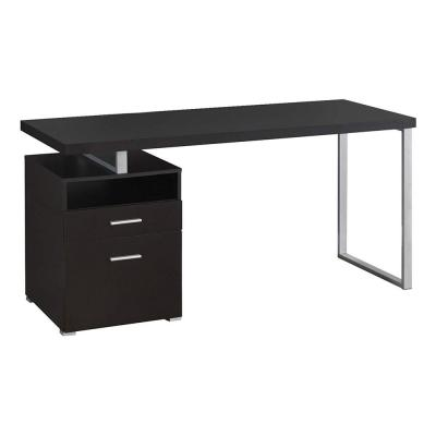 60 in. Cappuccino Industrial Design Office Computer Desk