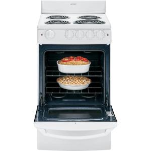exciting cook stoves at lowes. Store SO SKU  596703 Hotpoint 20 in 2 4 cu ft Electric Range White RA720KWH The