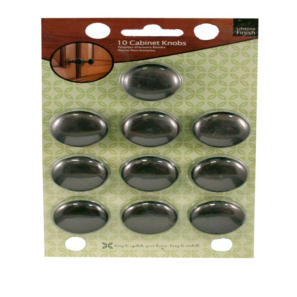 Global Door Controls 1-1/4 in. Venetian Bronze Cabinet Knobs -Set of 10-DISCONTINUED