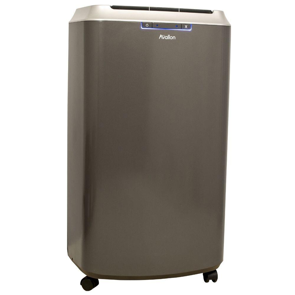 High Quality 14,000 BTU Dual Hose Portable Air Conditioner With Dehumidifier InvisiMist  Smart