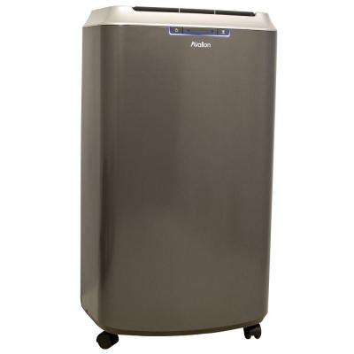 14,000 BTU Dual Hose Portable Air Conditioner with Dehumidifier InvisiMist Smart Drain Technology