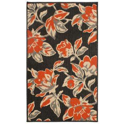 Carlisle 8 ft. x 11 ft. Indoor/Outdoor Area Rug in Orange