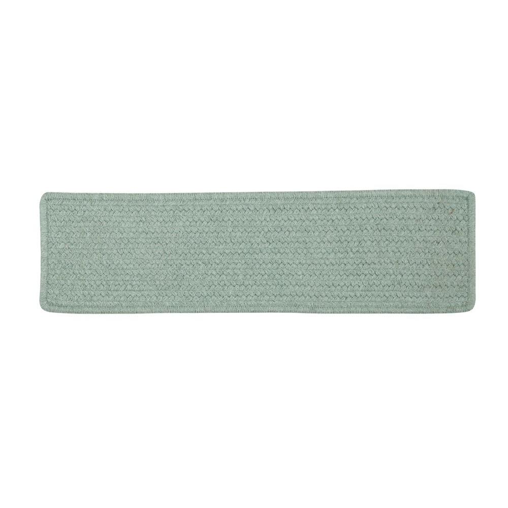 Colonial Mills Allure Misted Green Braided Stair Tread Single