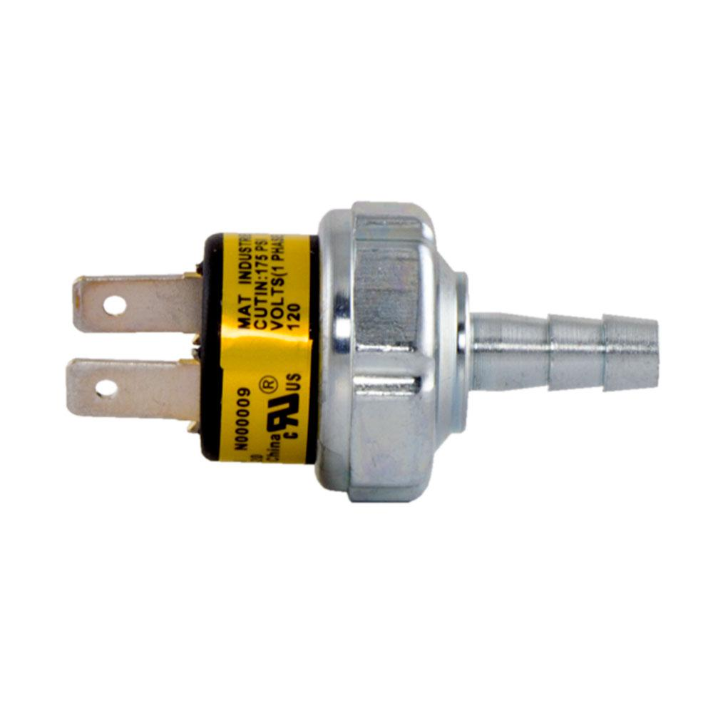 Replacement Pressure Switch 175 225 Psi Operating Range For Husky 2 Way Pneumatic Compressor