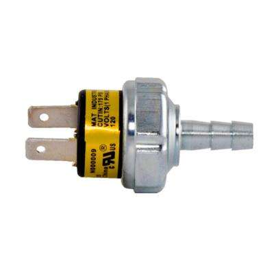Replacement Pressure Switch 175-225 psi Operating Range for Husky Compressor