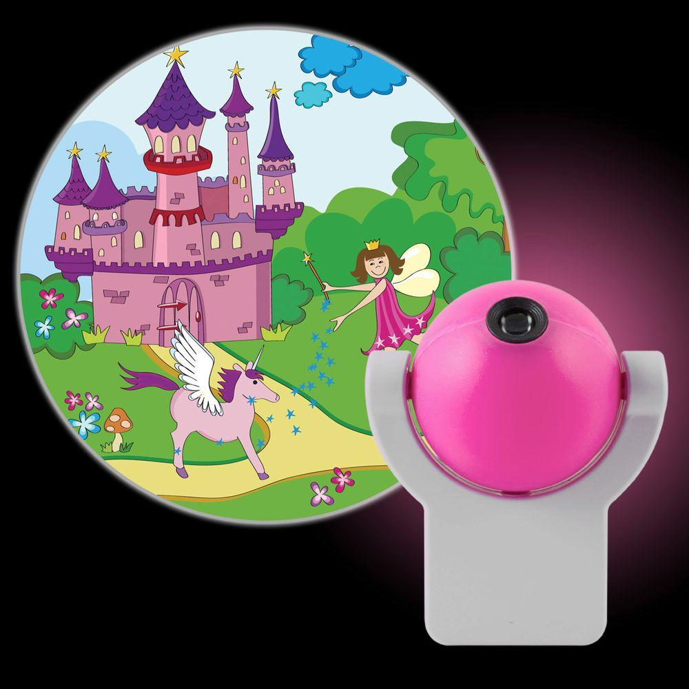 Projectables Fairy Princess Automatic LED Night Light