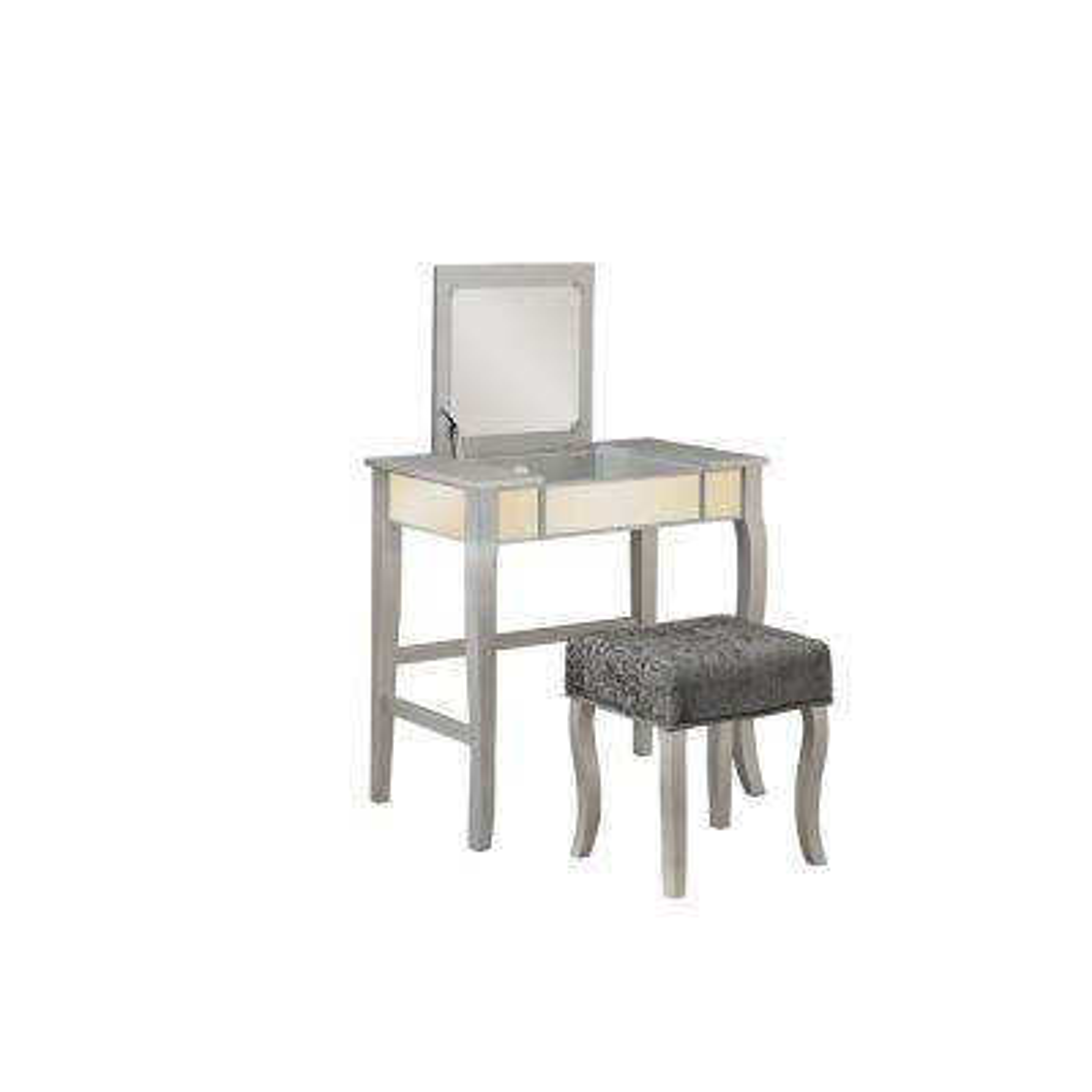 Harper 2-Piece Silver Vanity Set