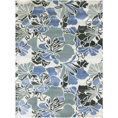 Shinoda Laurel Green 2 ft. x 3 ft. Rectangle Area Rug