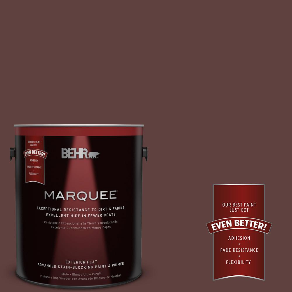 1-gal. #BXC-21 Chicory Root Flat Exterior Paint