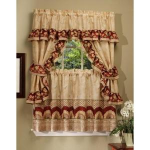 Semi Opaque 57 In X 36 Sunflower Printed Cottage Set