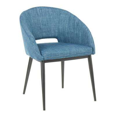 df36c757b760 Blue - Upholstered - Dining Chairs - Kitchen   Dining Room Furniture ...