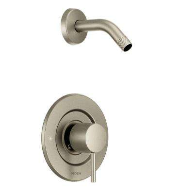 Align Single-Handle Posi-Temp Shower Faucet Trim Kit in Brushed Nickel (Showerhead and Valve Not Included)