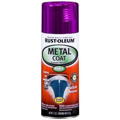 11 oz. Metal Coat Purple Spray (6-Pack)