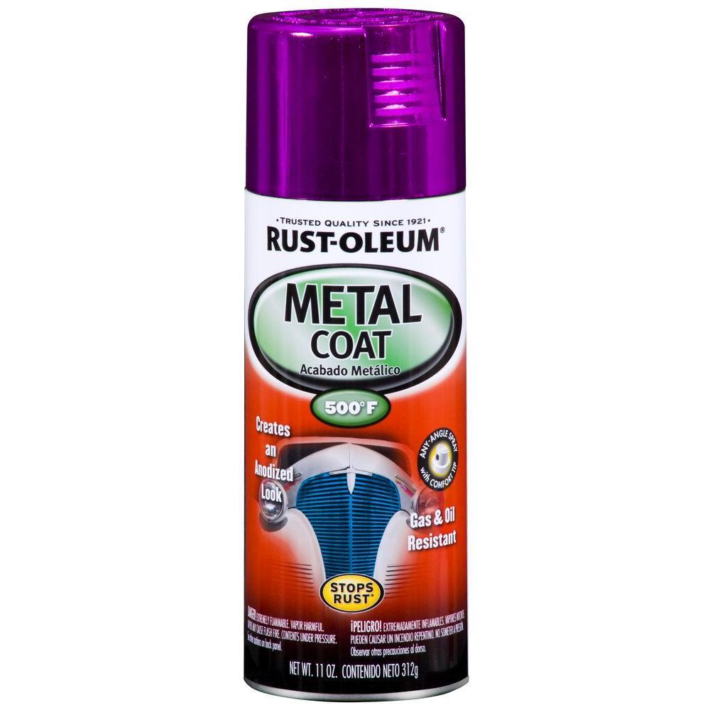 Metal Coat Gloss Purple Spray Paint