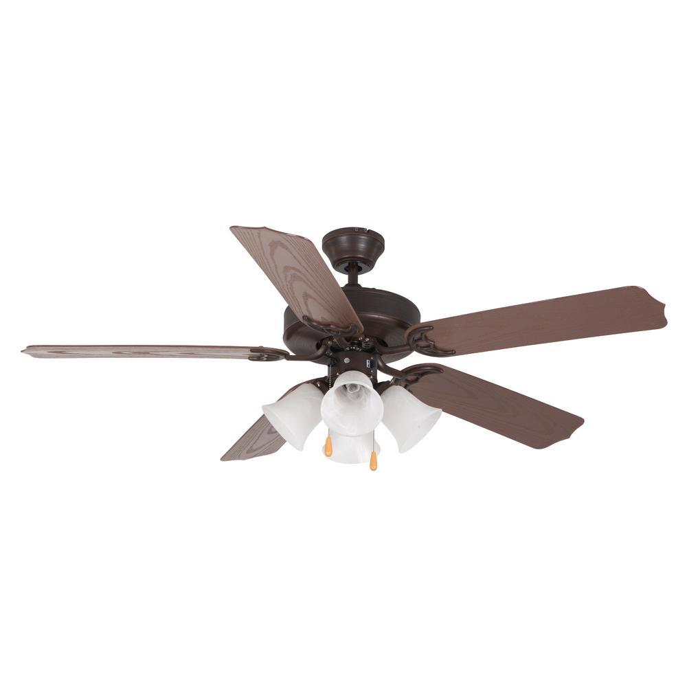 52 in. Oil Rubbed Bronze Ceiling Fan