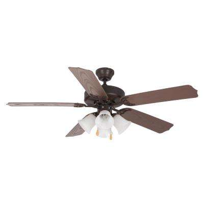 52 in. Oil Rubbed Bronze Ceiling Fan
