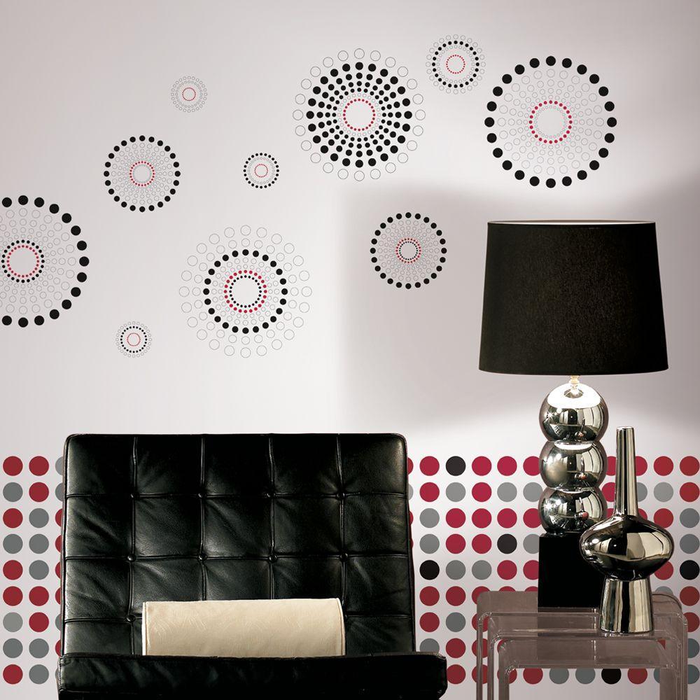 Wall In A Box Dots Fusion Wallpaper