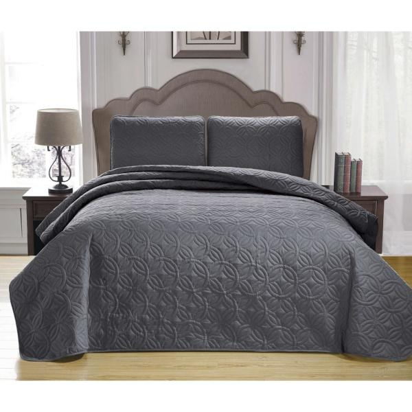 Duck River Kennelly Green King Bedspread Set KENNELLY 13305D=1