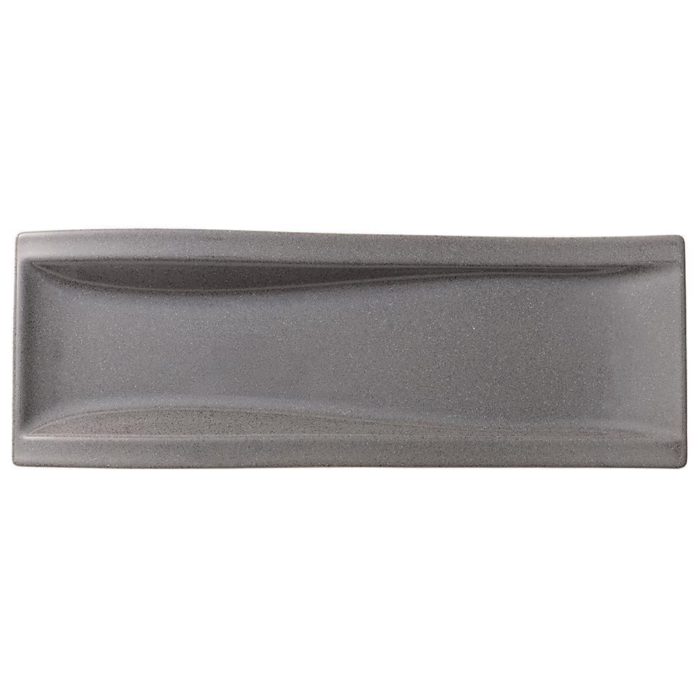 Villeroy & Boch New Wave Gray Stone Porcelain Antipasti Plate 1041982596