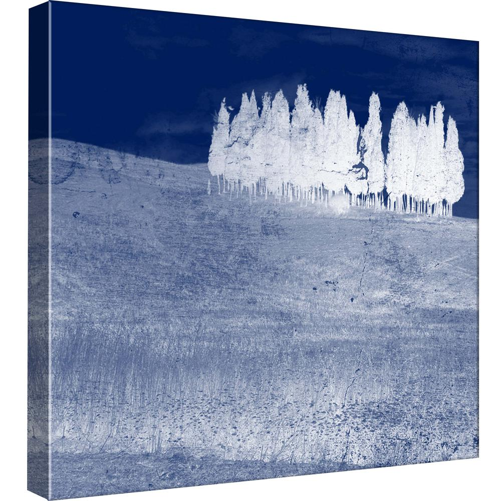 15 in. x 15 in. ''Screened Tree R'' Printed Canvas Wall Art