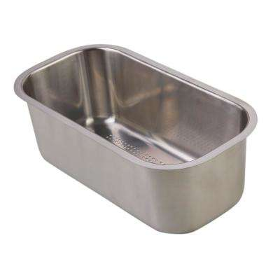 Colander Dish Rack in Brushed Stainless Steel