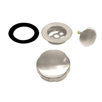 Cable Driven Trim Only for Cable Drive Waste and Overflow, Satin Nickel