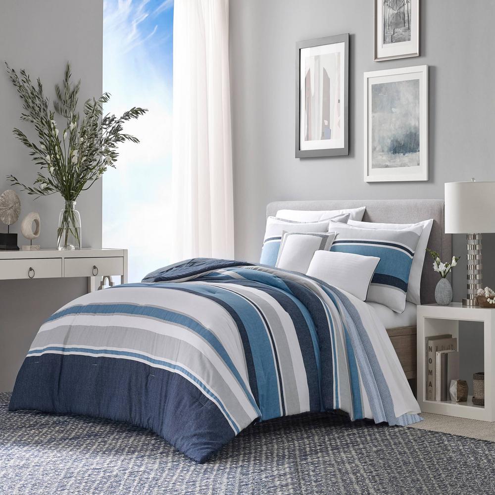 Chevron Stripe Cotton Blanket
