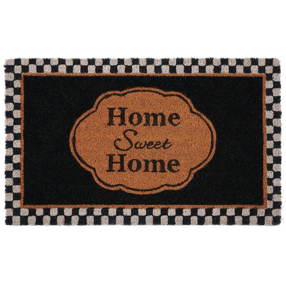 Sweet Home 18 in. x 30 in. Printed Coir Door Mat