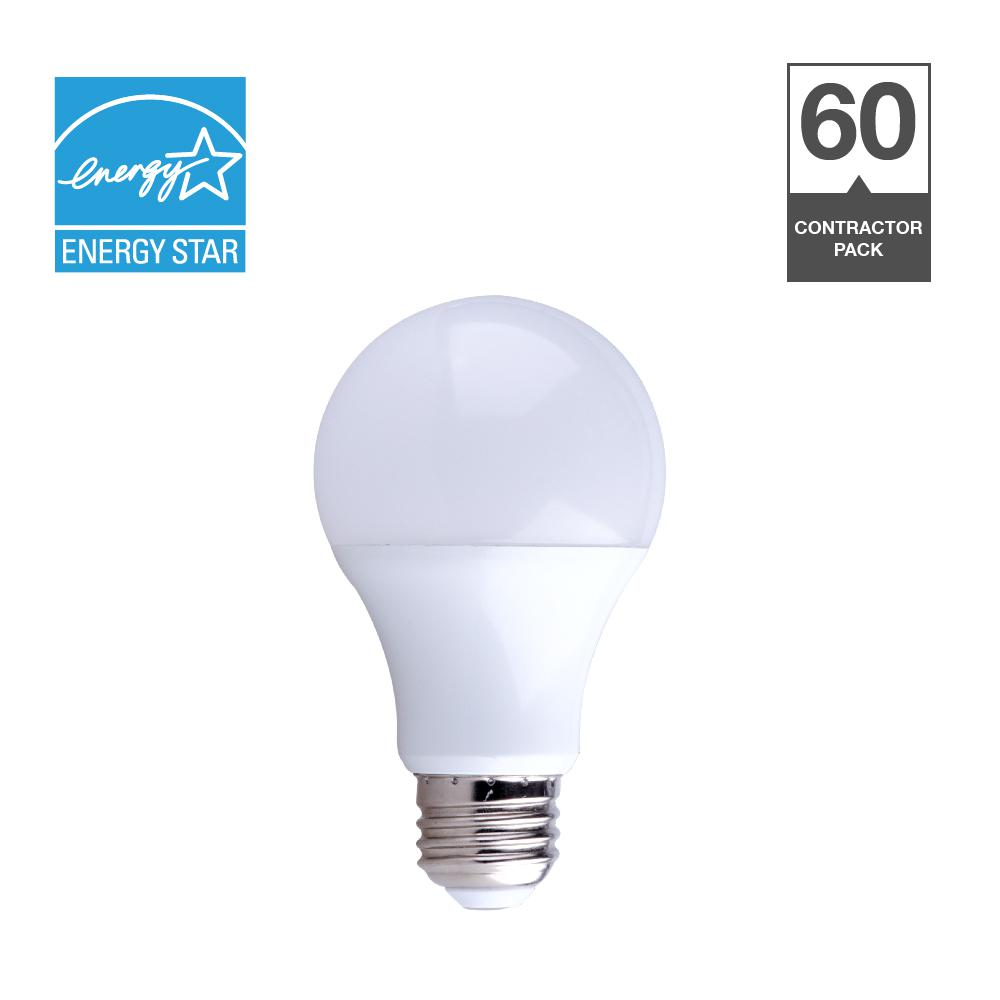 Swell Simply Conserve 60 Watt Equivalent A19 Dimmable Contractor Pack Wiring Cloud Rectuggs Outletorg