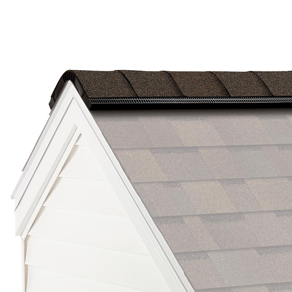Owens Corning ProEdge Algae Resistant Teak Hip and Ridge Asphalt Roofing Shingles (33 linear ft. per Bundle)